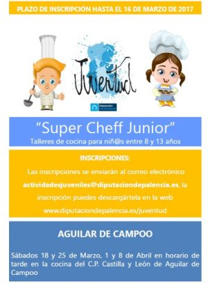 Entrevista sobre el taller 'Super Chef Junior'