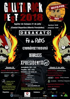 Galleta Rock Fest 2018