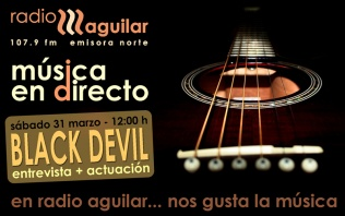 Black Devil en Radio Aguilar F.M.